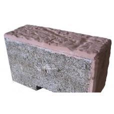 Арболитовый блок с облицовкой